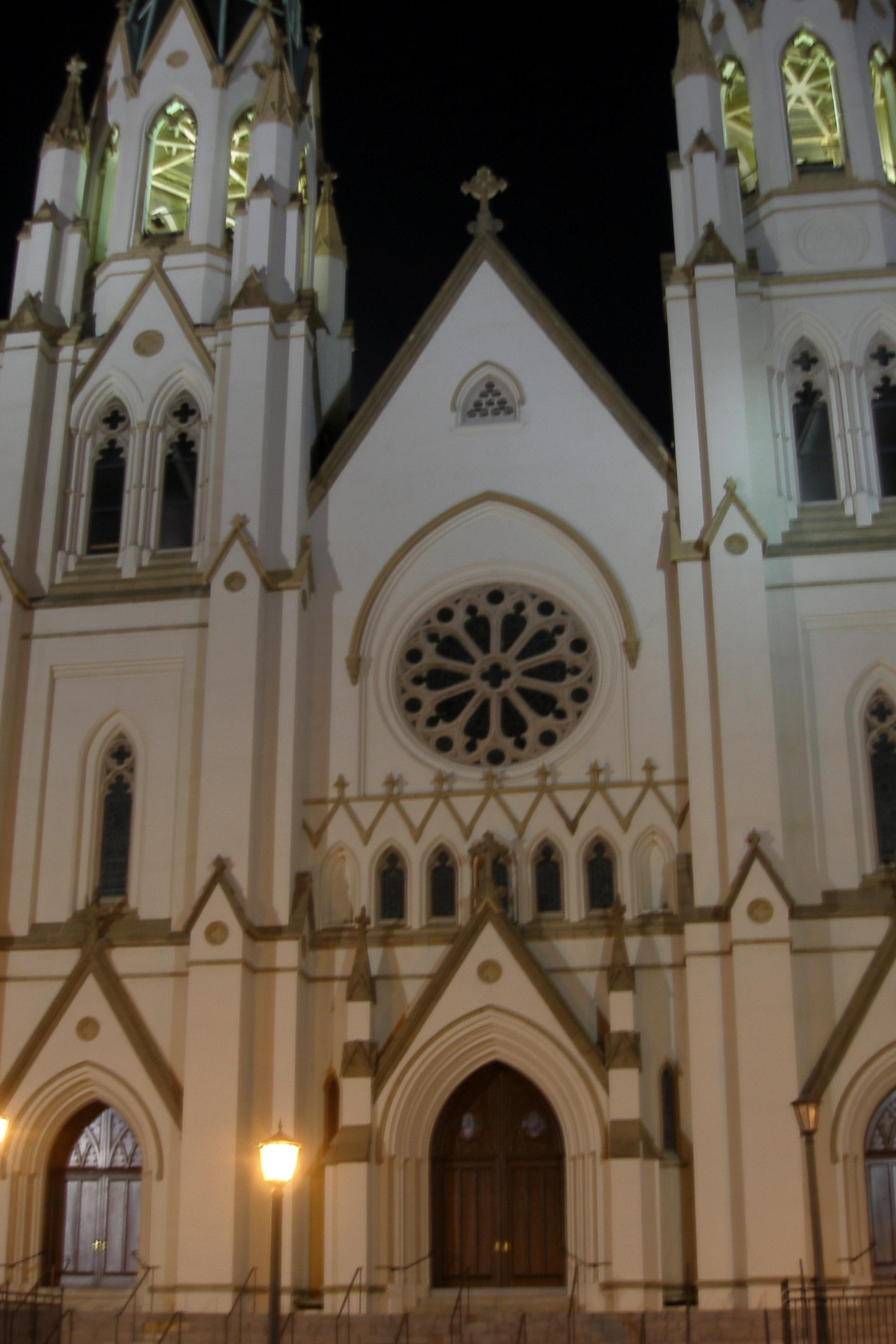 Cathedral of St. John the Baptist, Savannah, GA, 1876