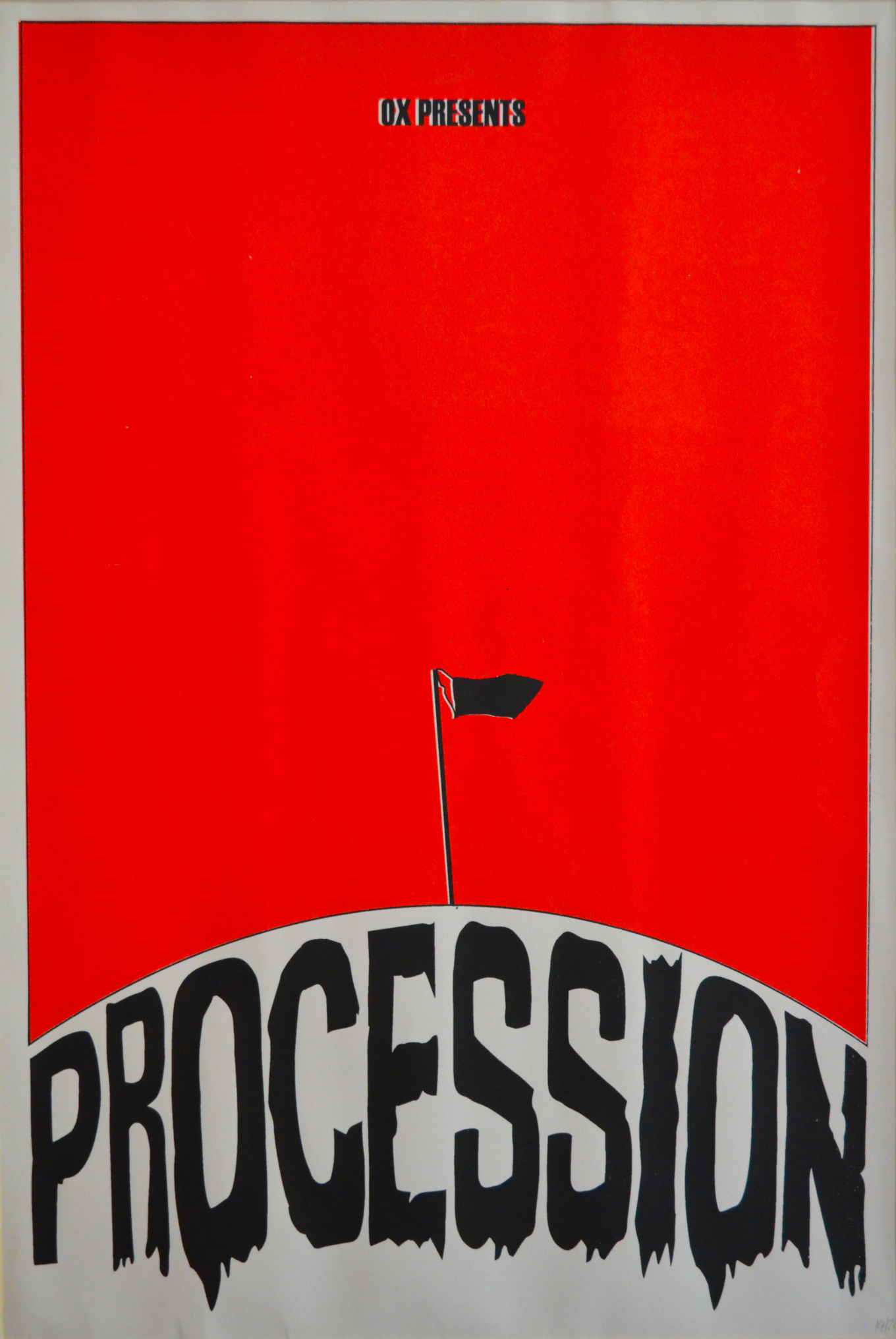 Ox Presents: Procession, Poster Ox, 2013