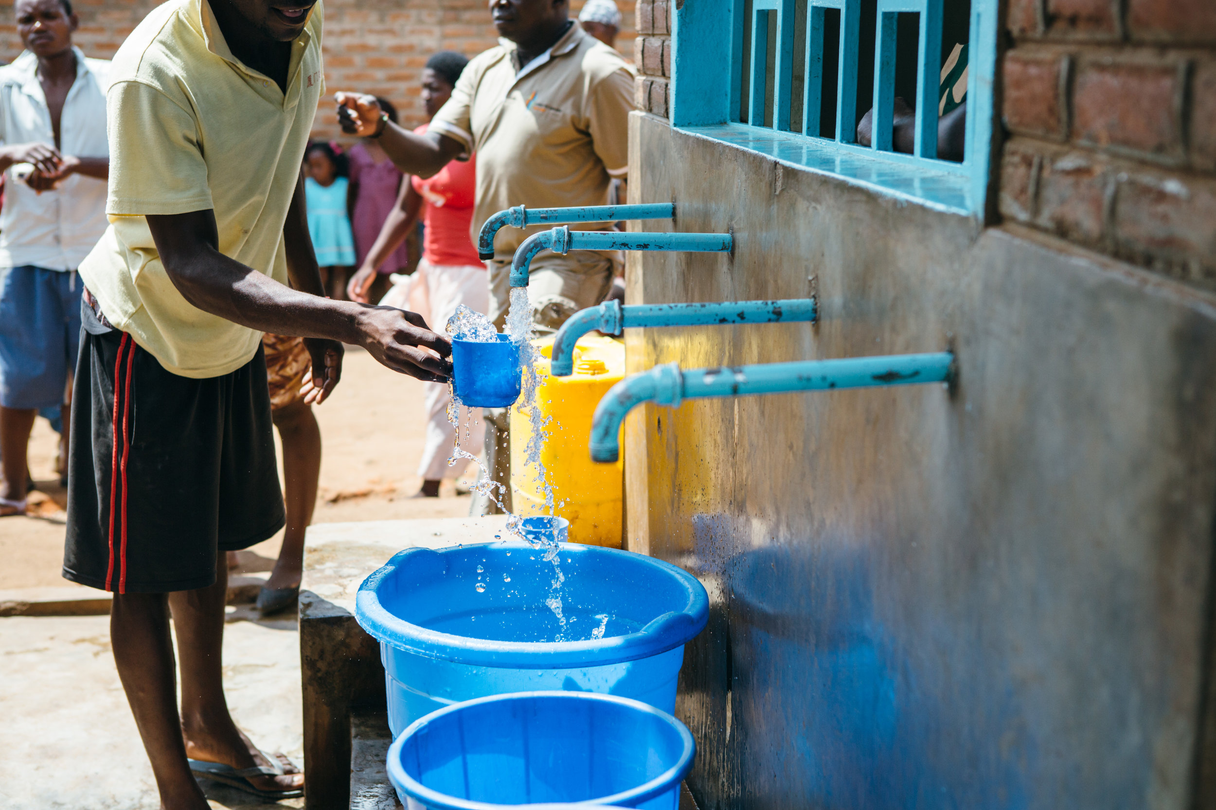 read the stories from people that now have access to clean drinking water and sanitation -