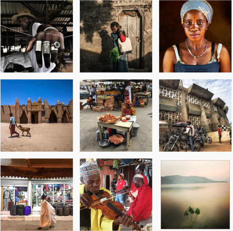 "A screenshot of the Everyday Africa Instagram feed. Photographer Peter DiCampo and writer Austin Merrill had a simple goal when they launched Everyday Africa in early 2012: to provide another alternative to the tragic narrative that defined so much of the reportage from the African continent. The two men never imagined that they might start an international movement, but that is what transpired, thanks to the power of social media. Today Everyday Africa is a thriving Instagram ( @everydayafrica ) and Tumblr feed with content delivered from a growing group of photographers (both Africans and expatriates alike) that reveals daily life on the continent from multiple perspectives, moving beyond the visual clichés and stereotypes about war, poverty, and disease that permeate conventional media coverage of Africa. The group's mission statement articulates their motivation: ""As journalists who have lived and worked on the continent for years at a time, we find the extreme not nearly as prevalent as the familiar, the everyday."""