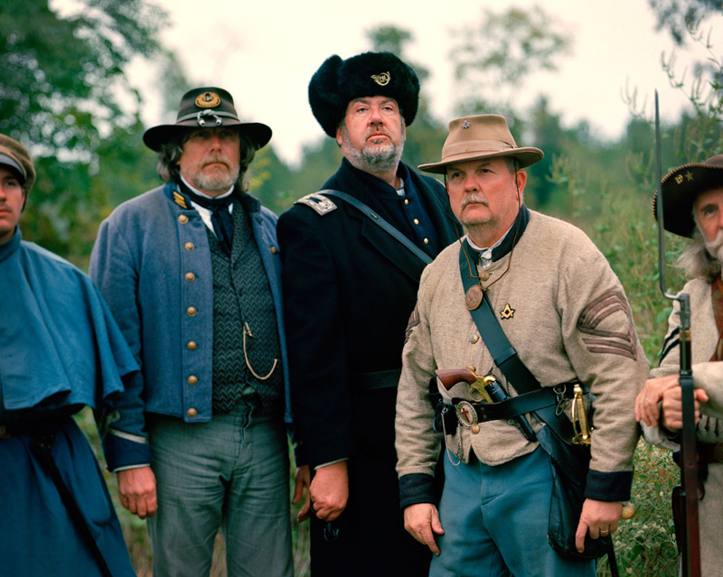 Confederate Officers  by Kris Davidson from     In the Southern Garden  .