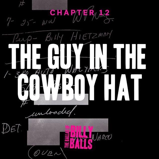 Tomorrow... #theballadofbillyballs #truecrime #podcast #crimetownpresents