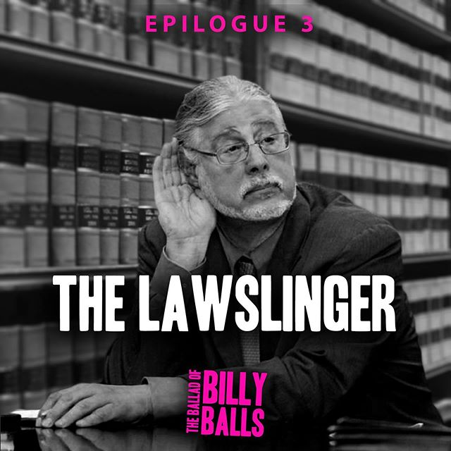What's that? A new bonus epilogue of The Ballad of Billy Balls?  iO and Austin pay a final visit to everyone's favorite lawyer, Ron Kuby. Listen wherever you get your podcasts! #theballadofbillyballs #truecrime #podcast #crimetownpresents