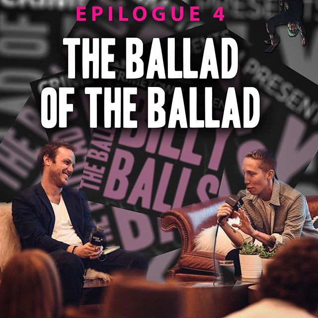 In a very special behind the scenes bonus episode @iolovesyou @zacsp and @austinlikesyou sit down in the studio to talk about the season.  #theballadofbillyballs #truecrime #podcast #crimetownpresents