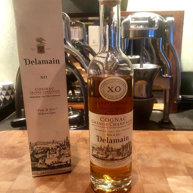 Happy birthday me... #Delamian preferred Cognac of #johnbarry  Easy now...