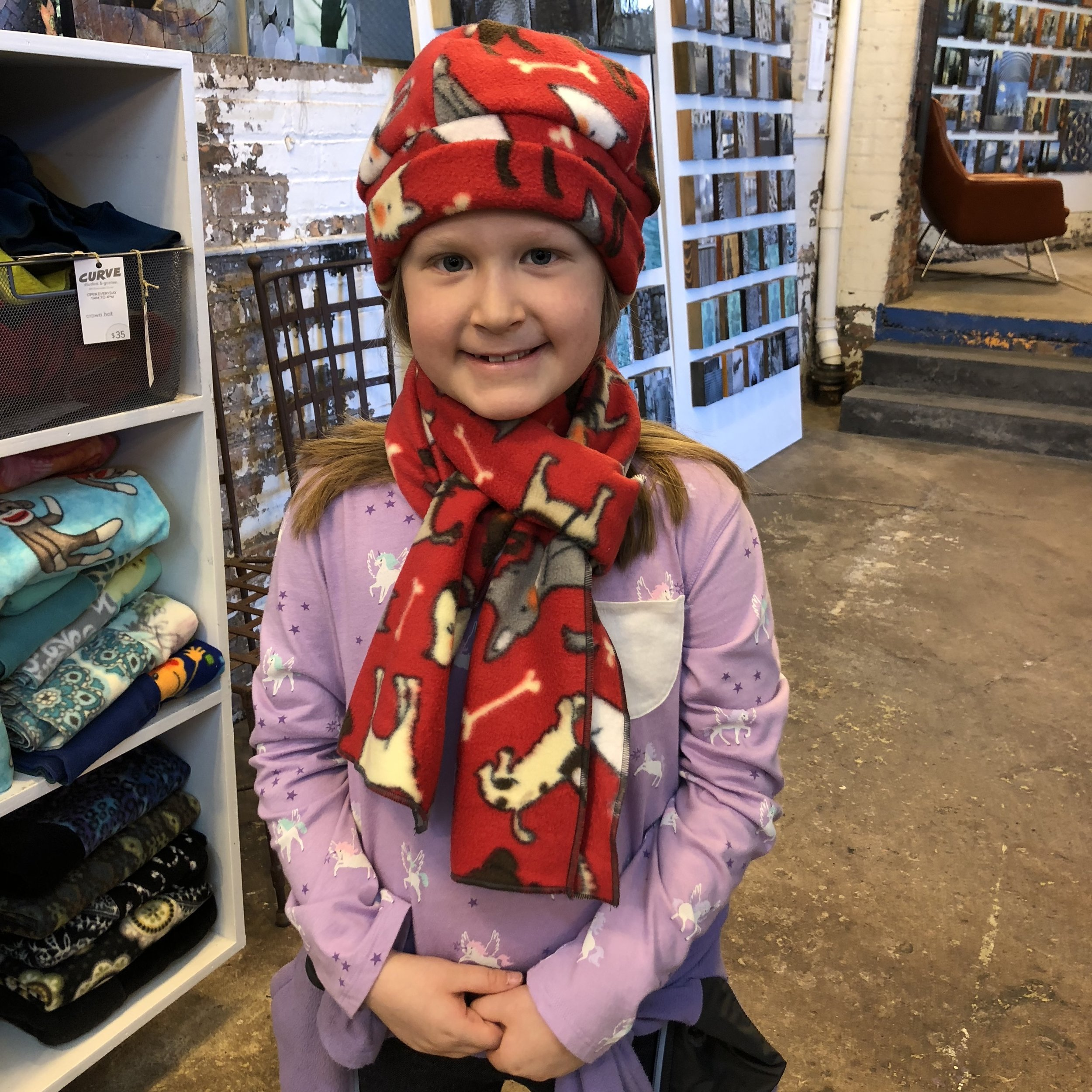 pattiy torno hats and scarves