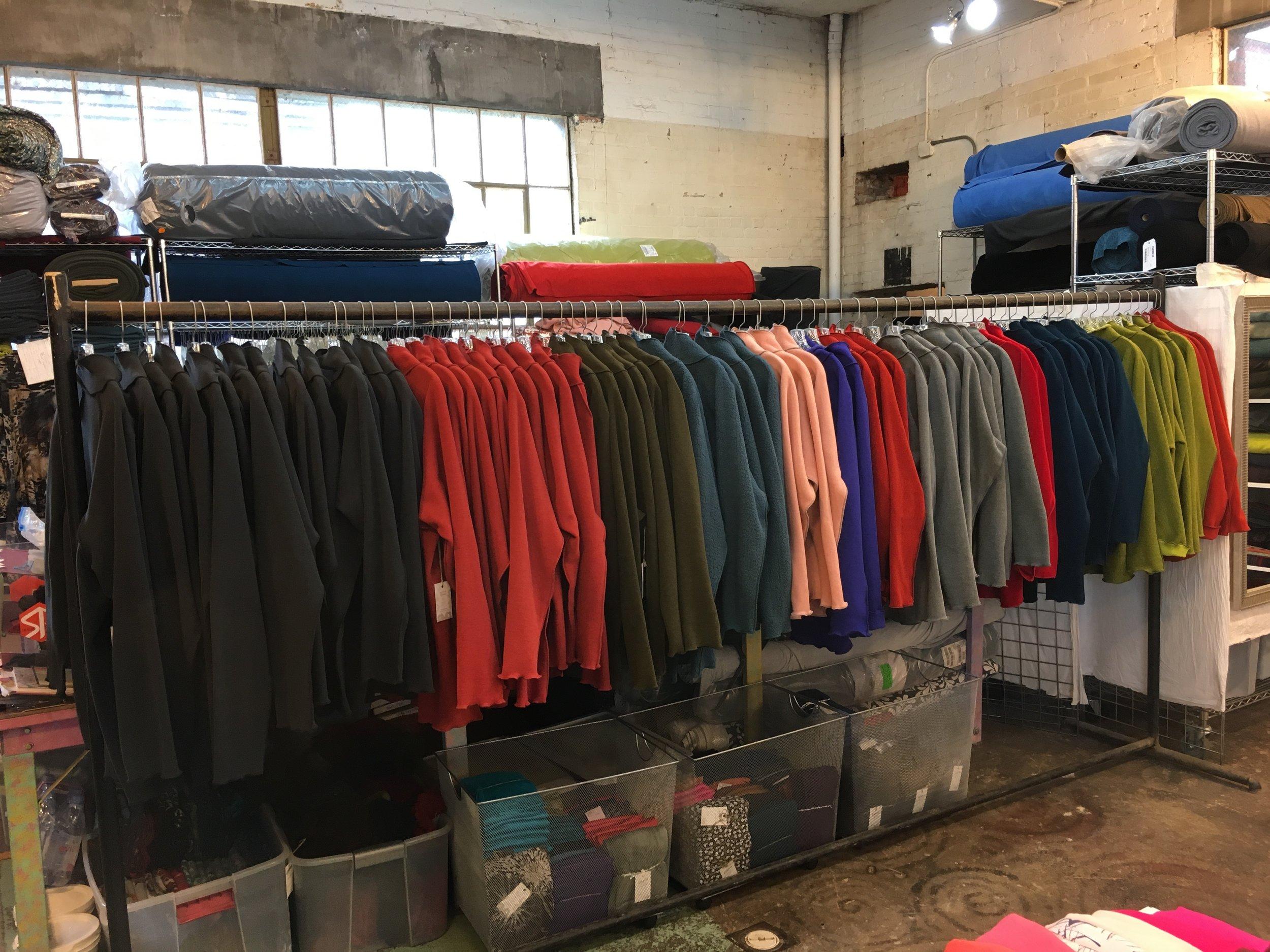 Summer 2019 Polartec Pullover colors