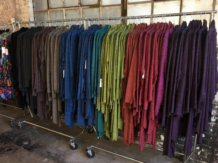 Cascade Coat and Cowl Tunic color selection Summer 2019