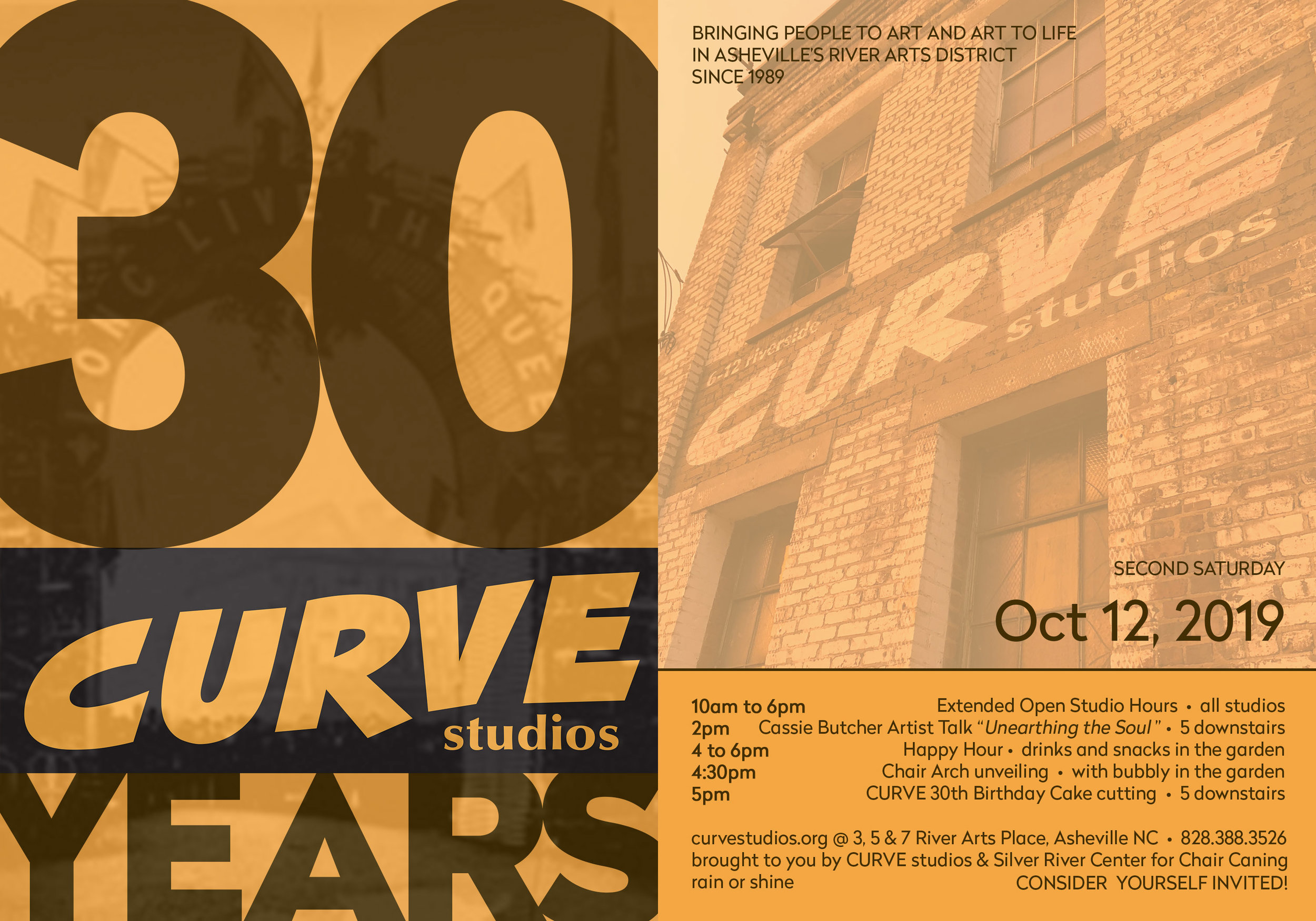 CURVE 30 Party- You're invited!