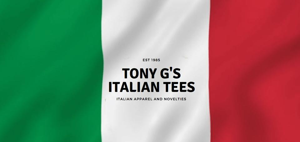 Tony G's Italian Tees - Italian Apparel
