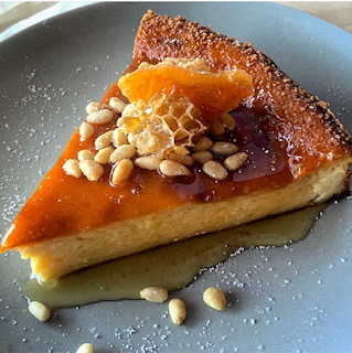 Blood Orange & Ricotta Cheesecake with Wildflower Honey - We were approached to brainstorm recipes that fit the National Honey Board's seasonal culinary themes. Ten of our submitted recipes were selected for further development.Our recipes were used in national campaigns, as well as the National Honey Board's newsletter and website.