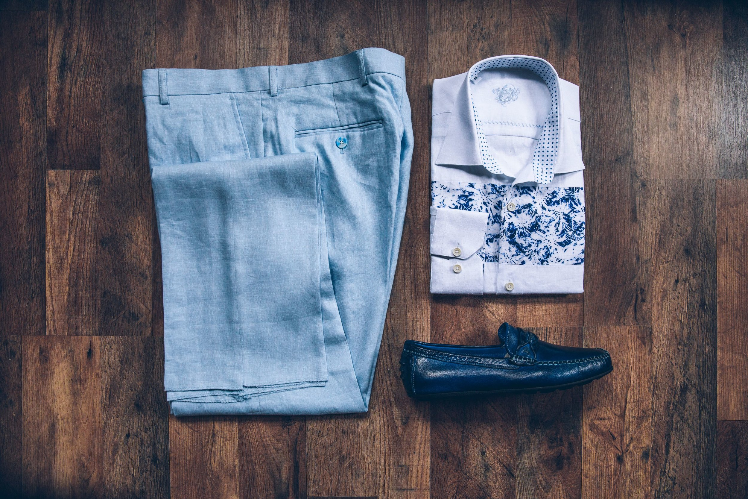 Men's Trousers and Shirts