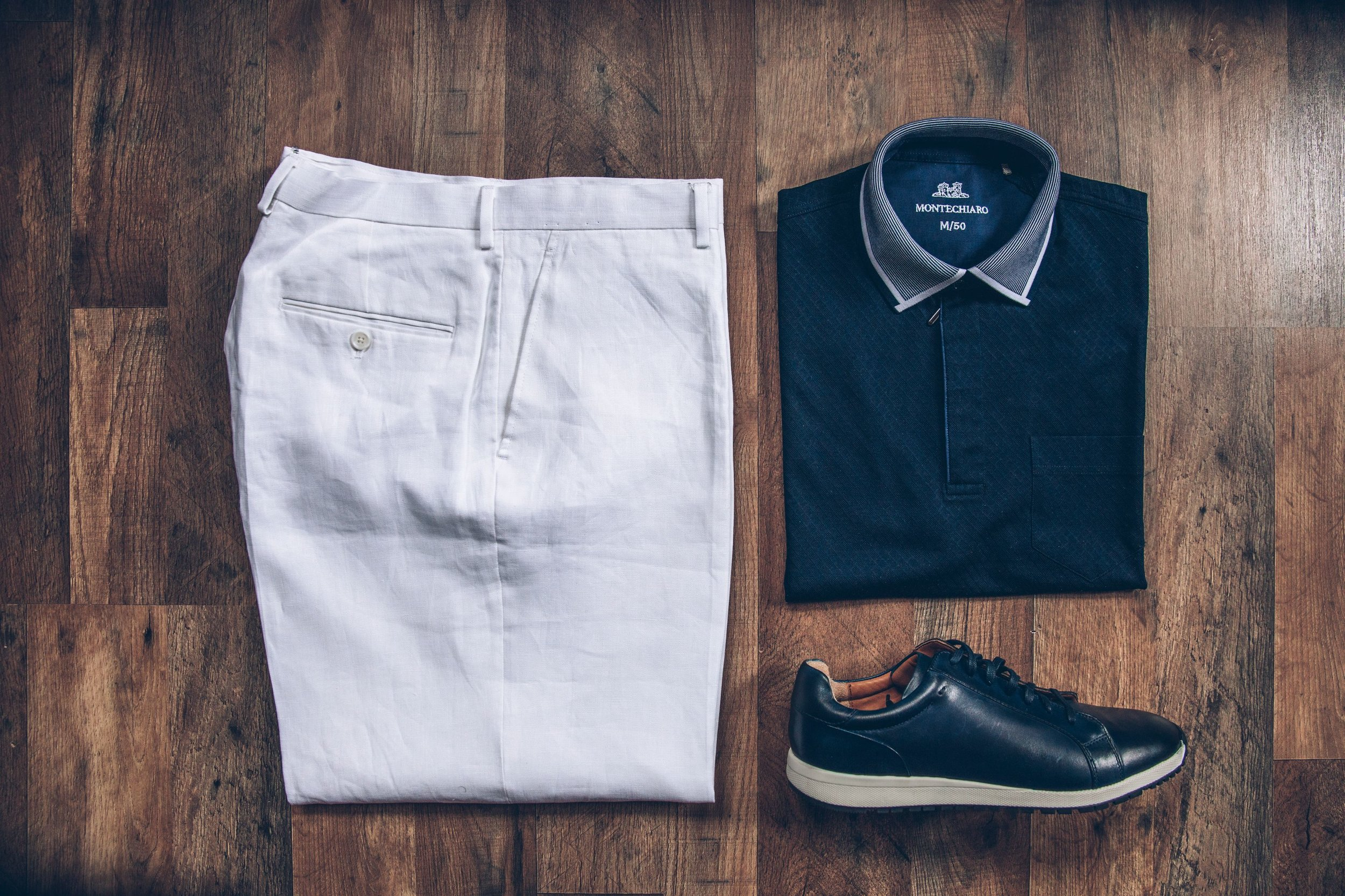 Men's Chinos and Polo Shirt