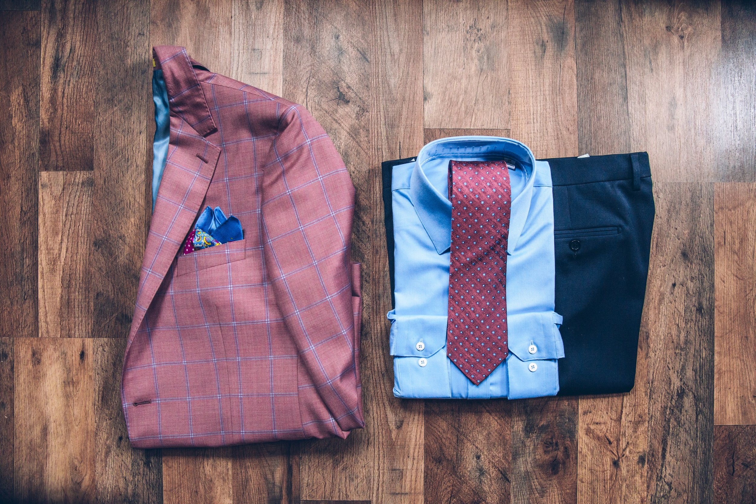 Men's Suit and Tie