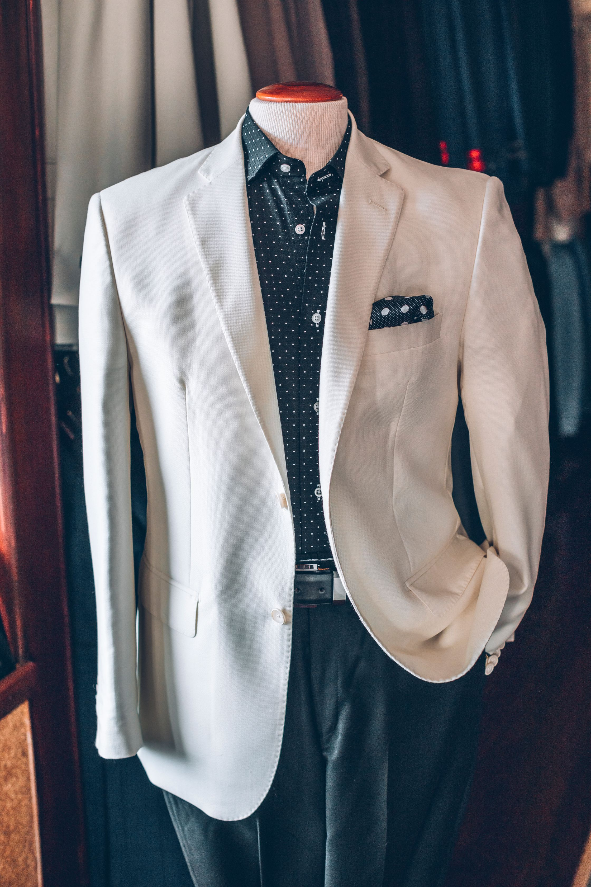 Men's Casual Suit Custom Made