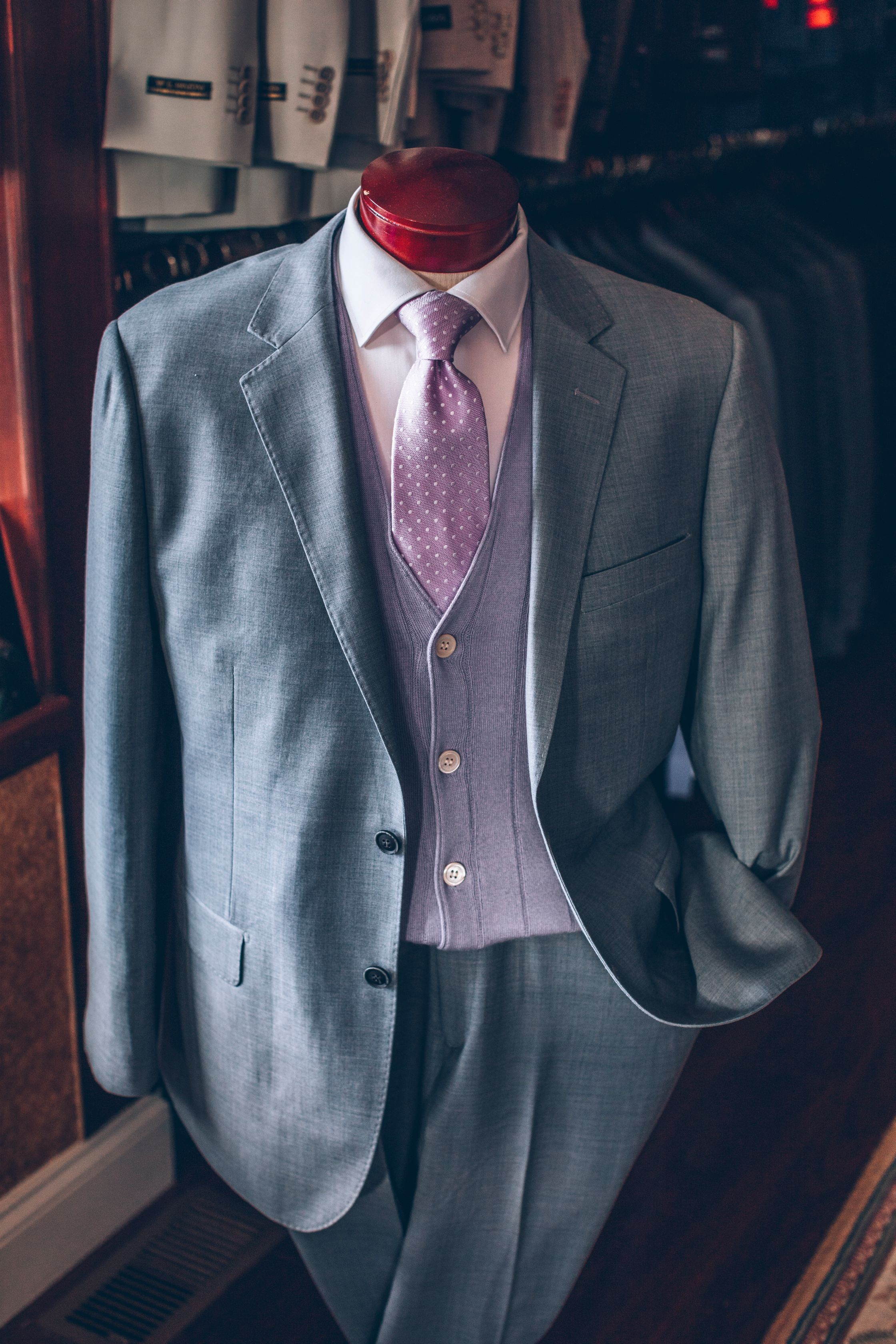 Men's Tailor Made Suits