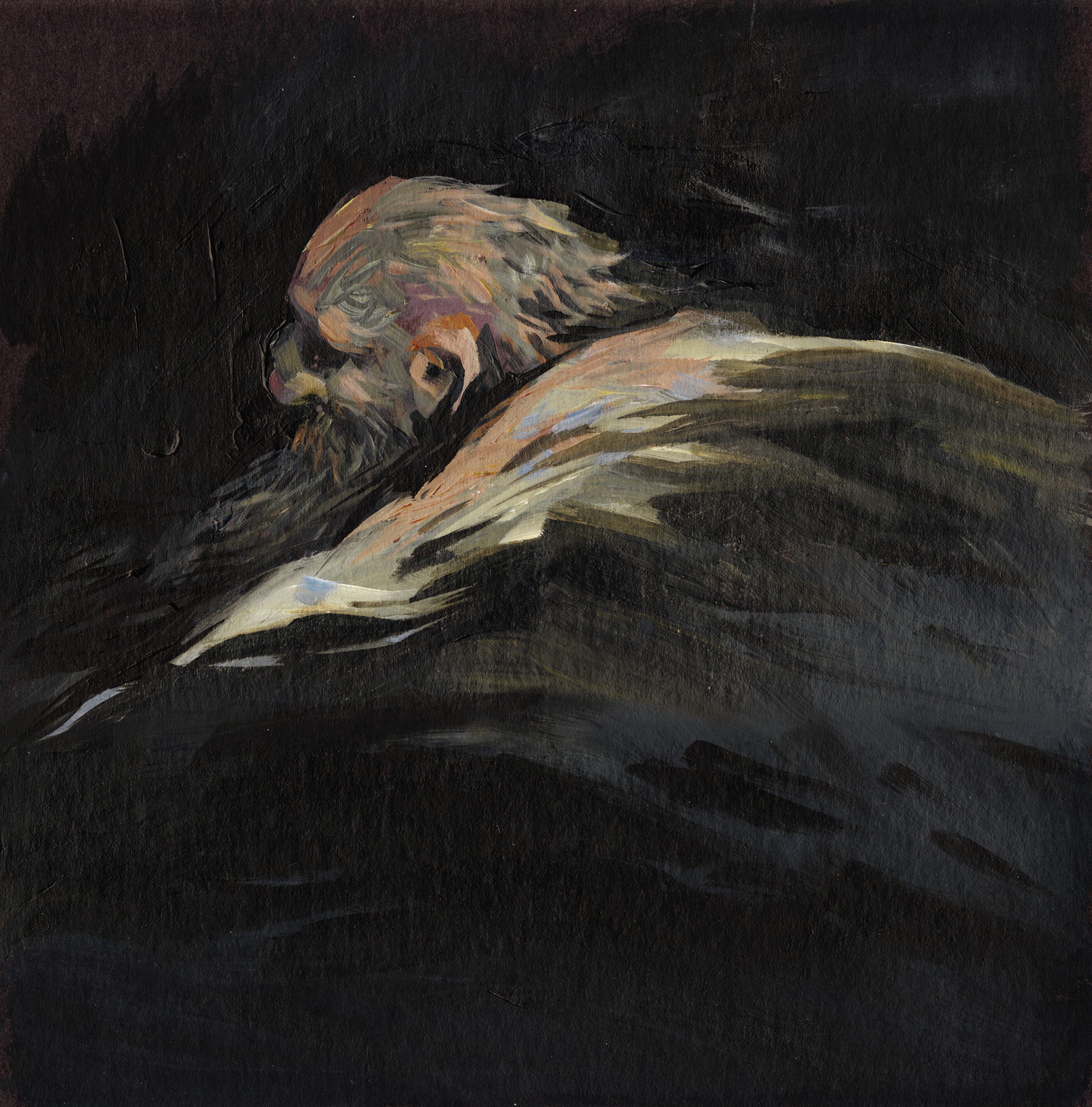 Painting: Old Man