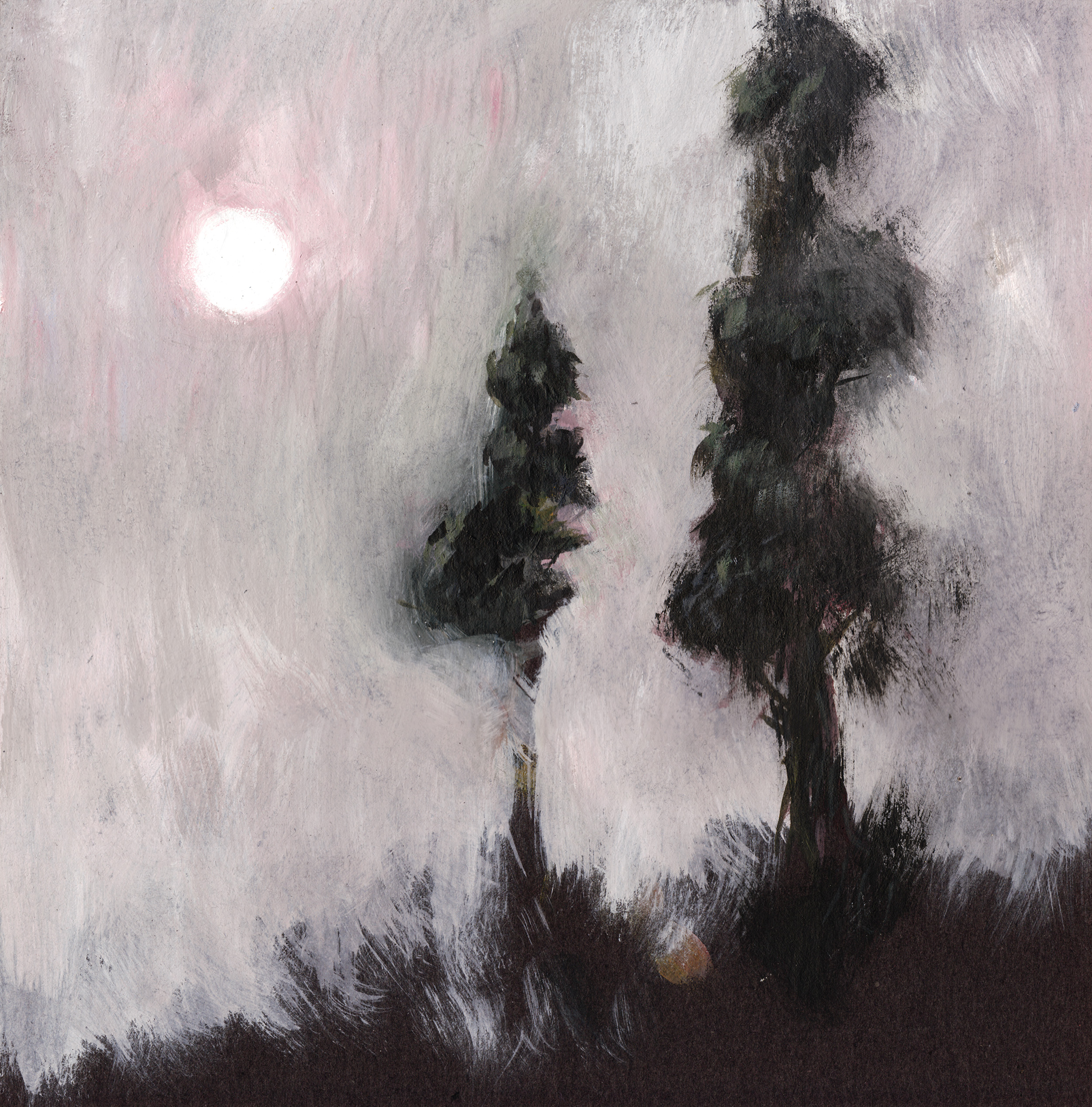 Painting: Trees