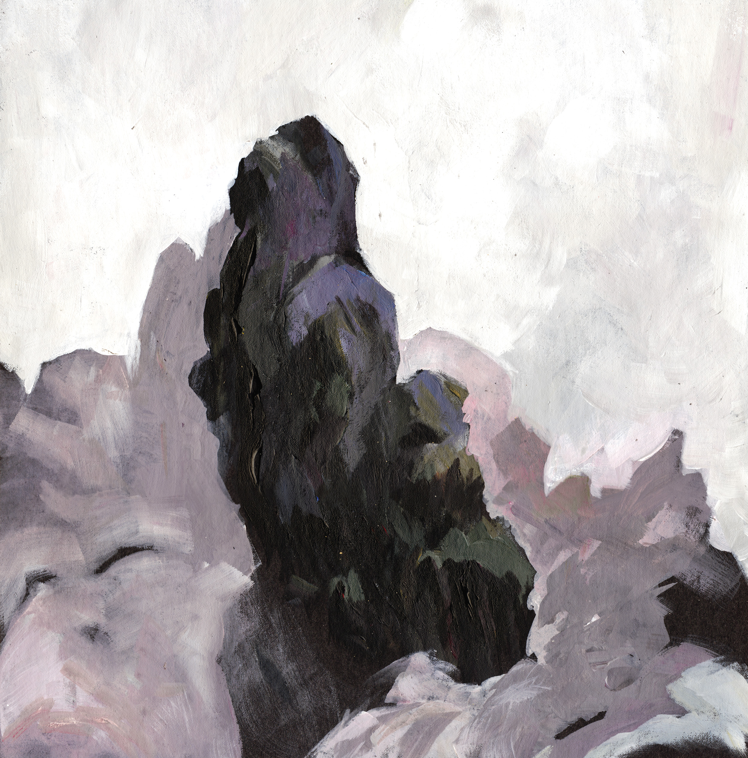 Painting: Rocks