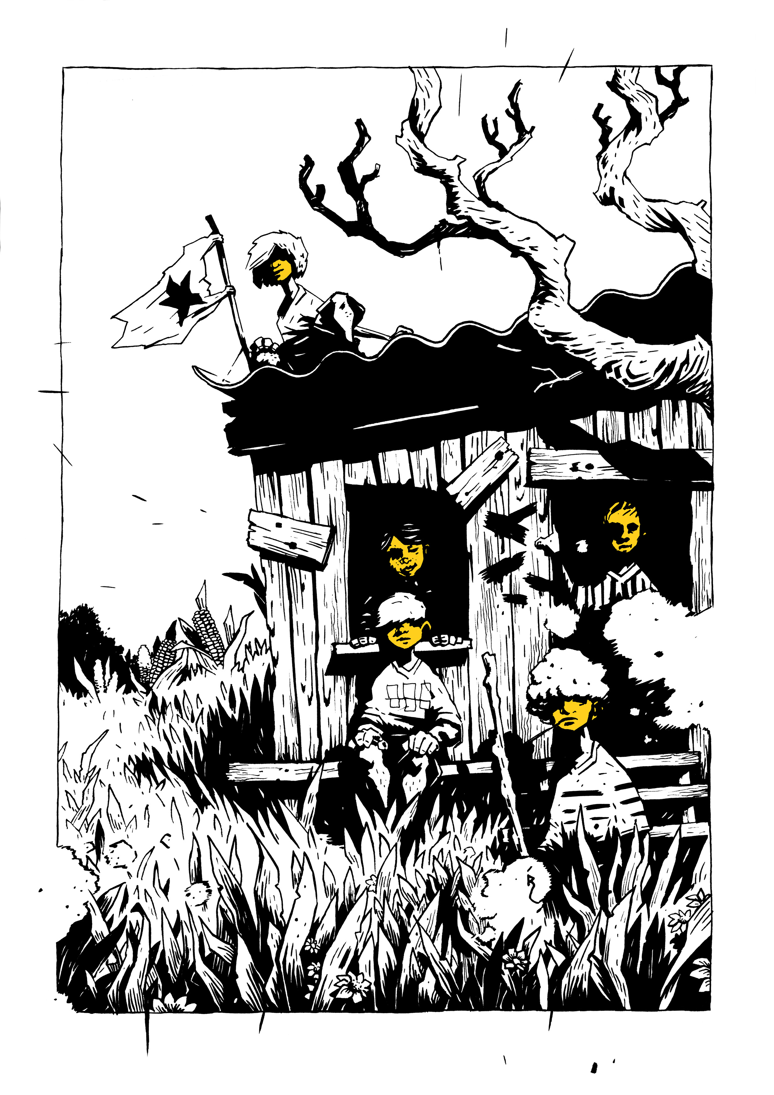 Print: Sterrekinderen