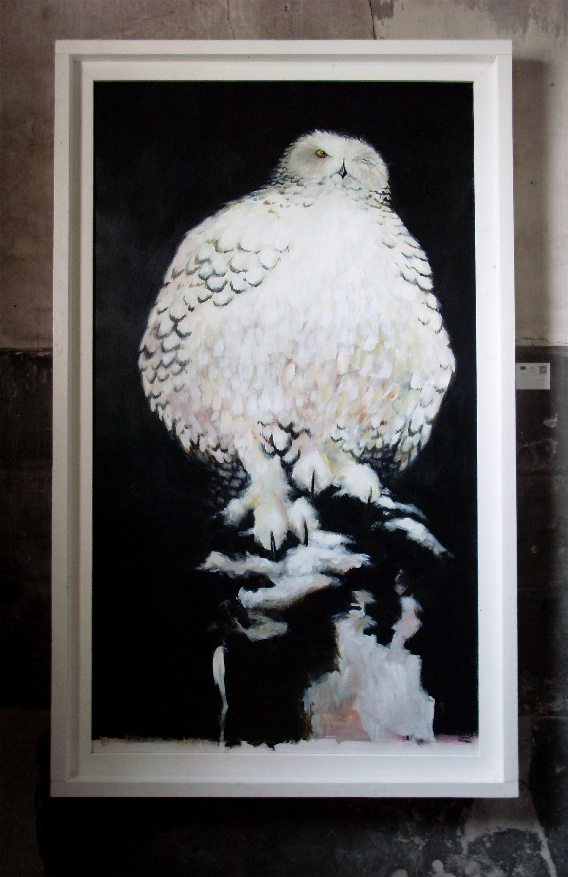 Painting: Snow Owl