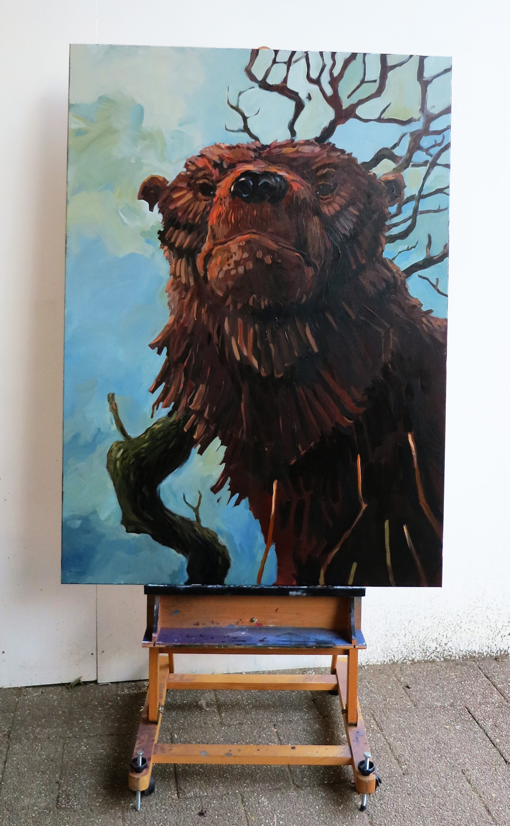 Painting: Sort of a Bear