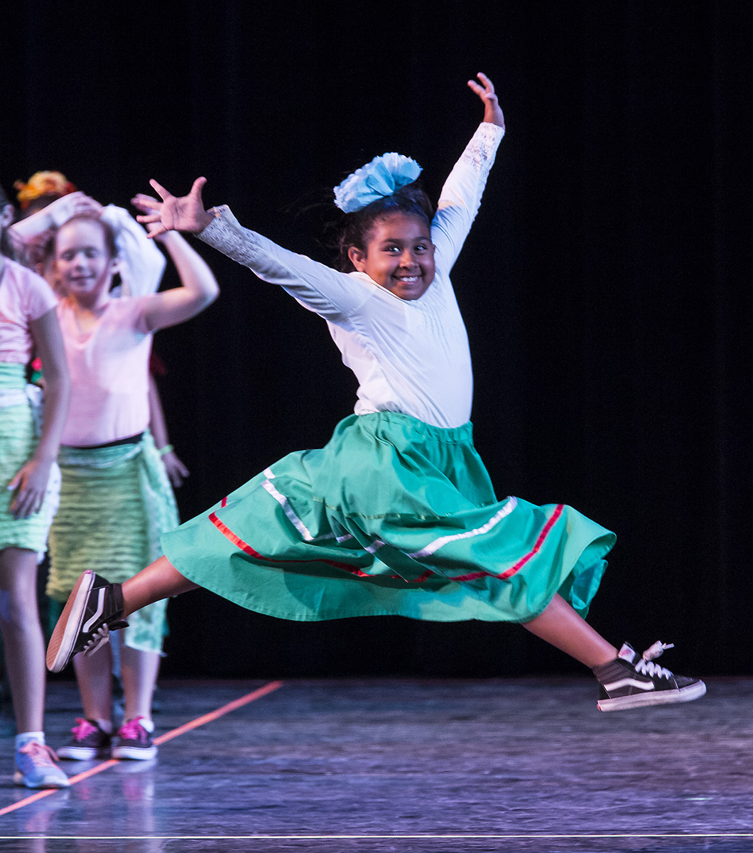 What we do - During and after school, our Teaching Artists serve entire grades, or an entire school. Through creative exploration, improvisation, composition, and presentation students develop an understanding of dance and choreography.   Students also learn dances that involve movements and patterns that develop their minds and bodies at their developmental stage in life.  The Teaching Artists are not only professional dancers, choreographers, musicians and composers, but they are all trained in teaching In-school educational dance programs.Learn more