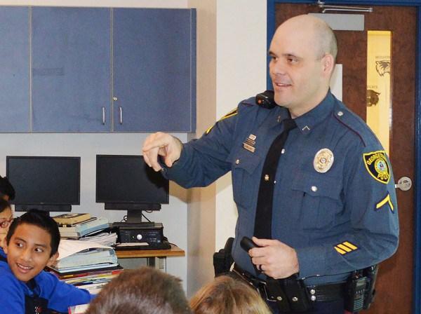 School Resource Officer - Detective Joey Melvin