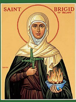 St. Brigid of Ireland, Patron Saint of Poets