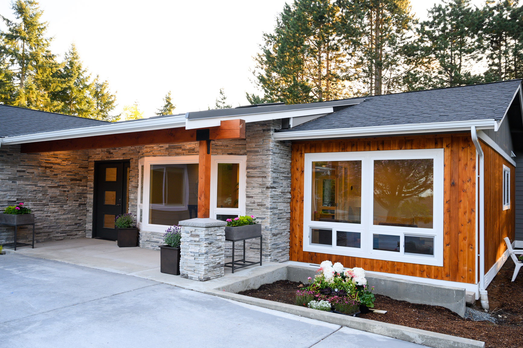 Modern Home - Rebuilt from ground up and completed in 2019. We worked with architects and healthcare consultants to ensure the most optimal floor layout and design for seniors.