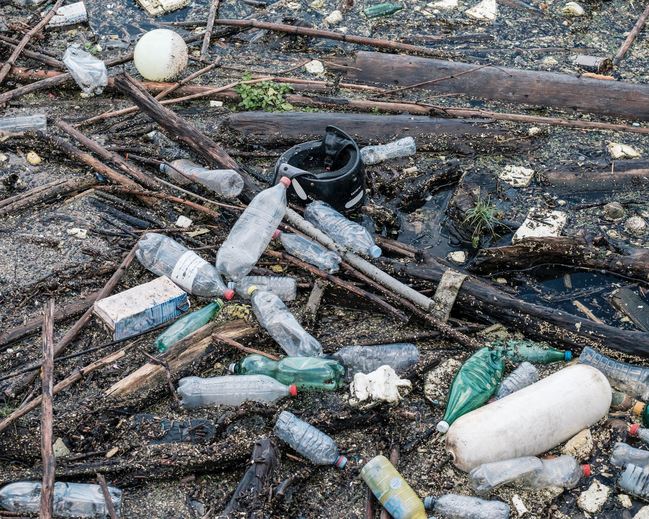 Plastic piles up in the environment - Only about 8 percent of plastic gets recycled. The rest ends up in landfills or becomes 'litter', and a small portion is incinerated.