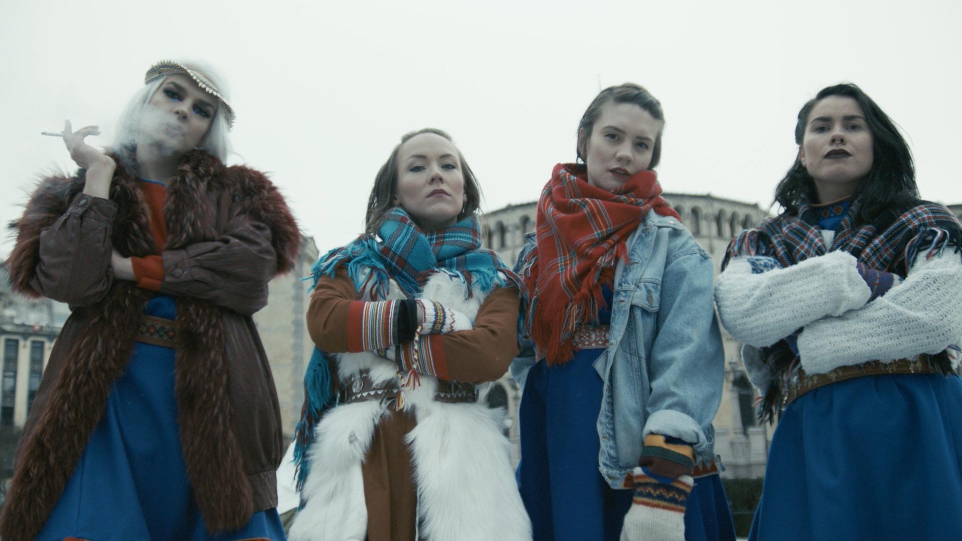 DON'T FUCK WITH ME - Short film. Director: Elle Márjá Eira. Photo: Ken Are Bongo. Sahkkon AS. 2019.