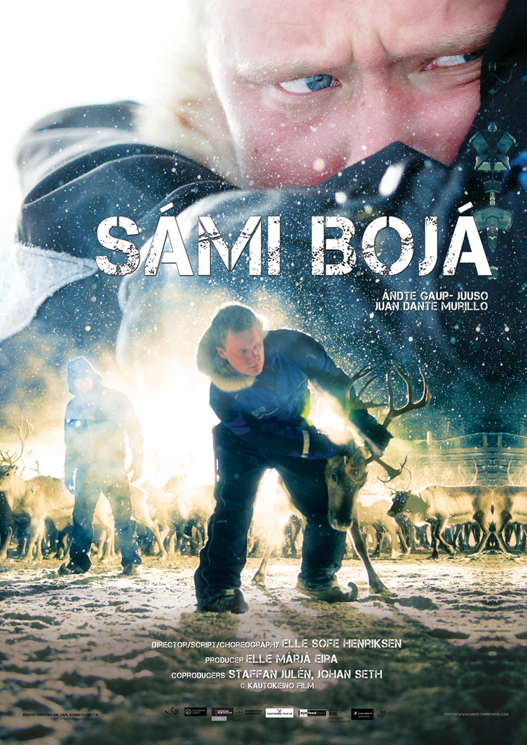 SÁMI BOJÁ - Short film. Mikkel is a young reindeer herder who is lonely and struggling with heavy thoughts. Director: Elle Sofe Henriksen. Producer: Elle Márjá Eira. Kautokeino Film AS. Premiere was during the Tromsø International Film Festival 2015.