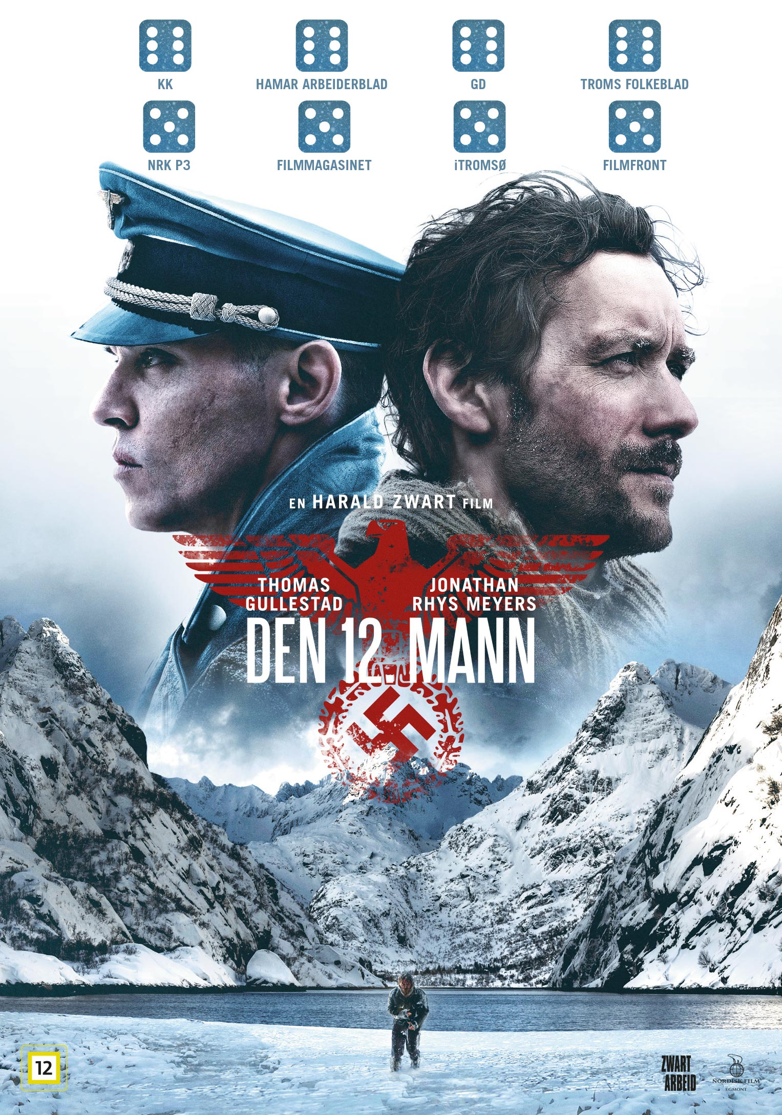 THE 12TH MAN - They were 12 saboteurs. The Nazis killed 11 of them. This is the true story of the one who got away.Directed by Harald Zwart