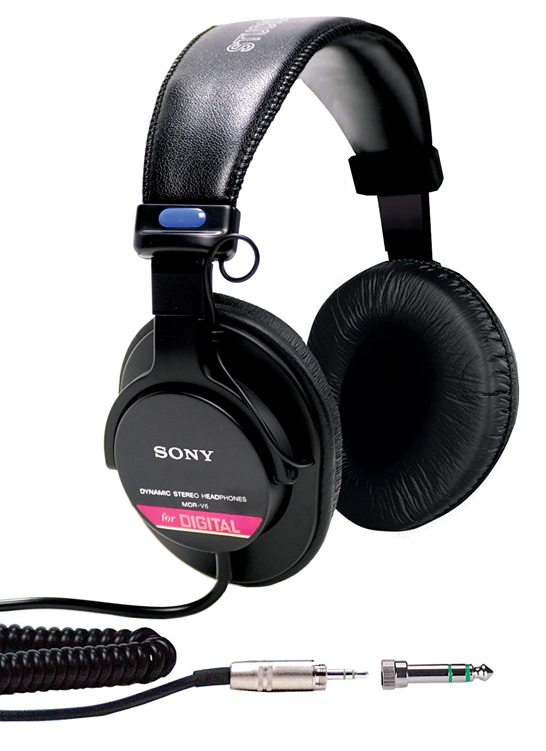 Sony MDRV6 Studio Monitor Headphones with CCAW Voice Coil -