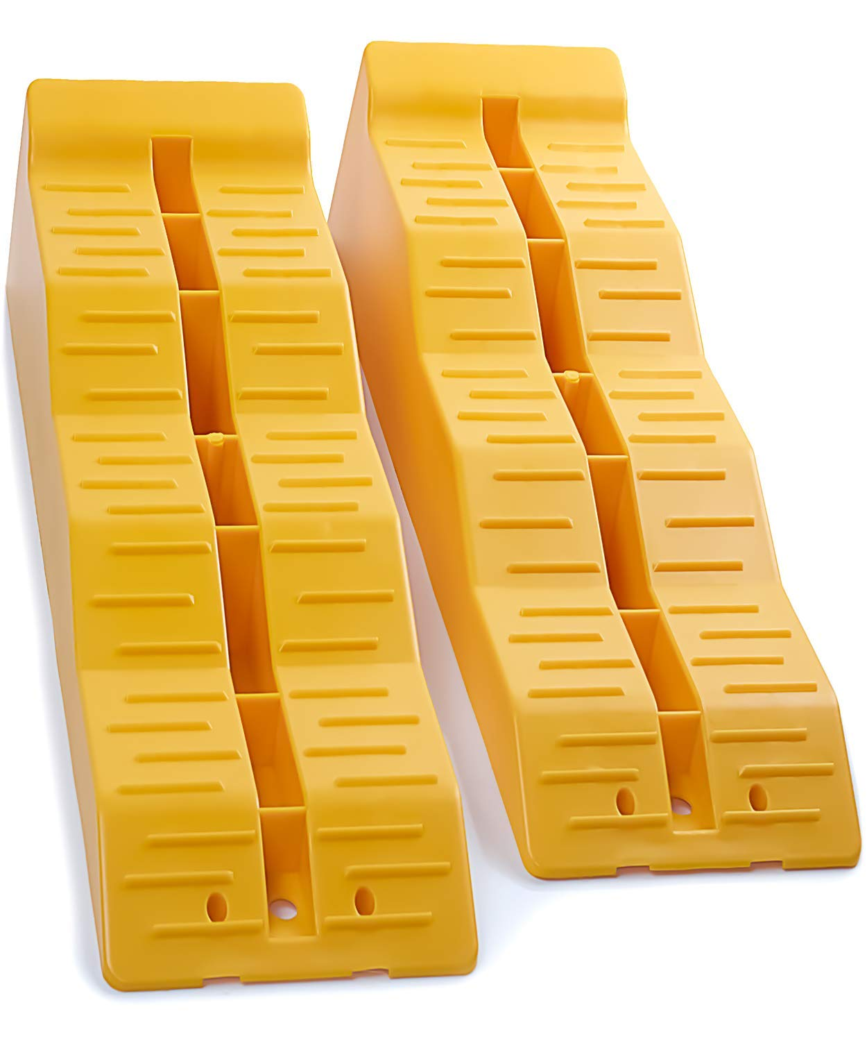 OxGord RV Camper Leveler Ramps Leveling Blocks for Travel Trailer Levelers for RVS Campers (Pack of 2) -