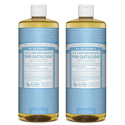 Dr. Bronner's Pure-Castile Liquid Soap Value Pack -