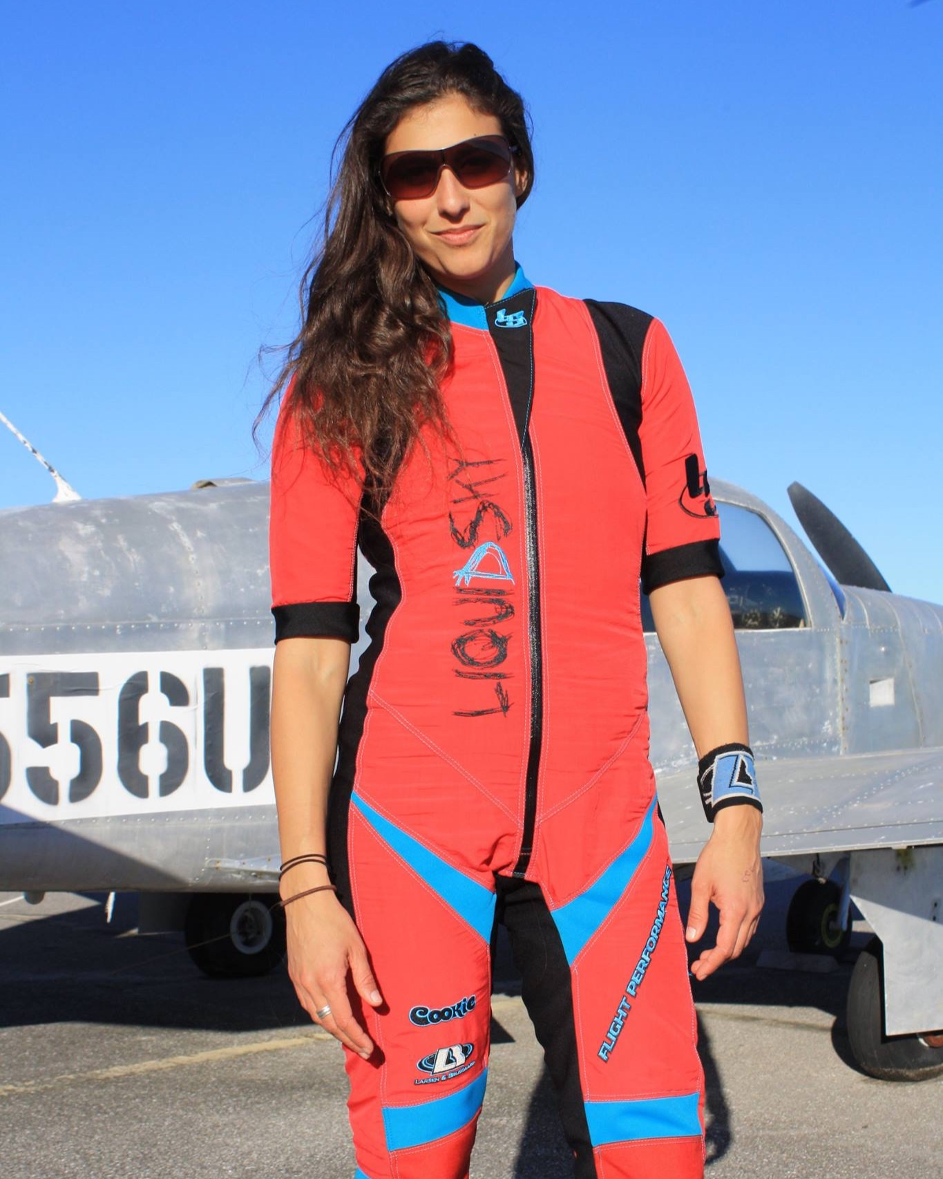 Sharon Har-Noy Pilcher - 7,000 Skydives4 World Records4 National TitlesRepresenting Israel