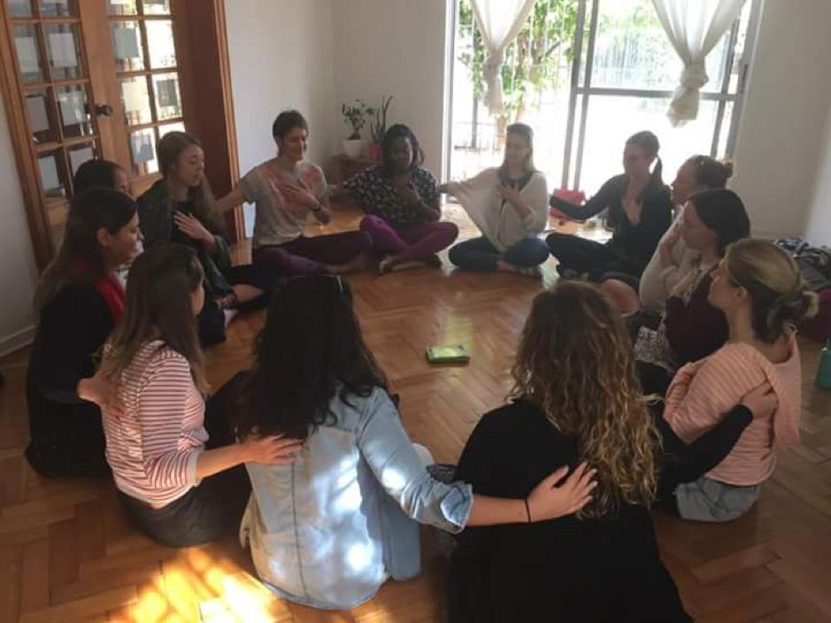 (Women's Healing Circle, Innu Yoga, Santiago de Chile, 12 May 2018)