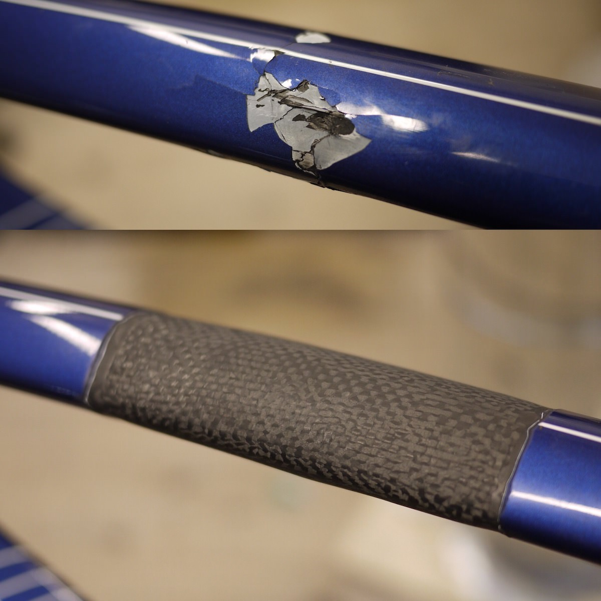 Copy of Top Tube Repair