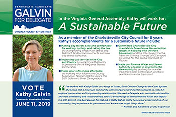 View or download a pdf of Kathy's Postcard on A Sustainable Future