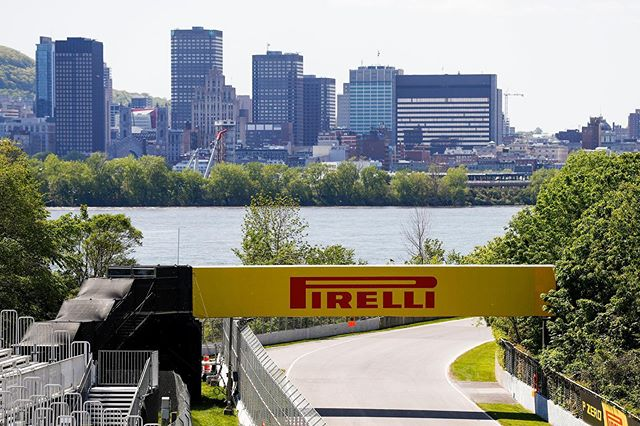 Beautiful Thursday in Montréal. We're getting revved up for @f1gpcanada! 📸 @pirelli_motorsport ⠀ Where will you be tuning in from this weekend? ✨🏁