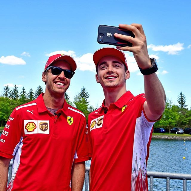 Practice Domination 🔥 #CanadianGP 📸 @scuderiaferrari