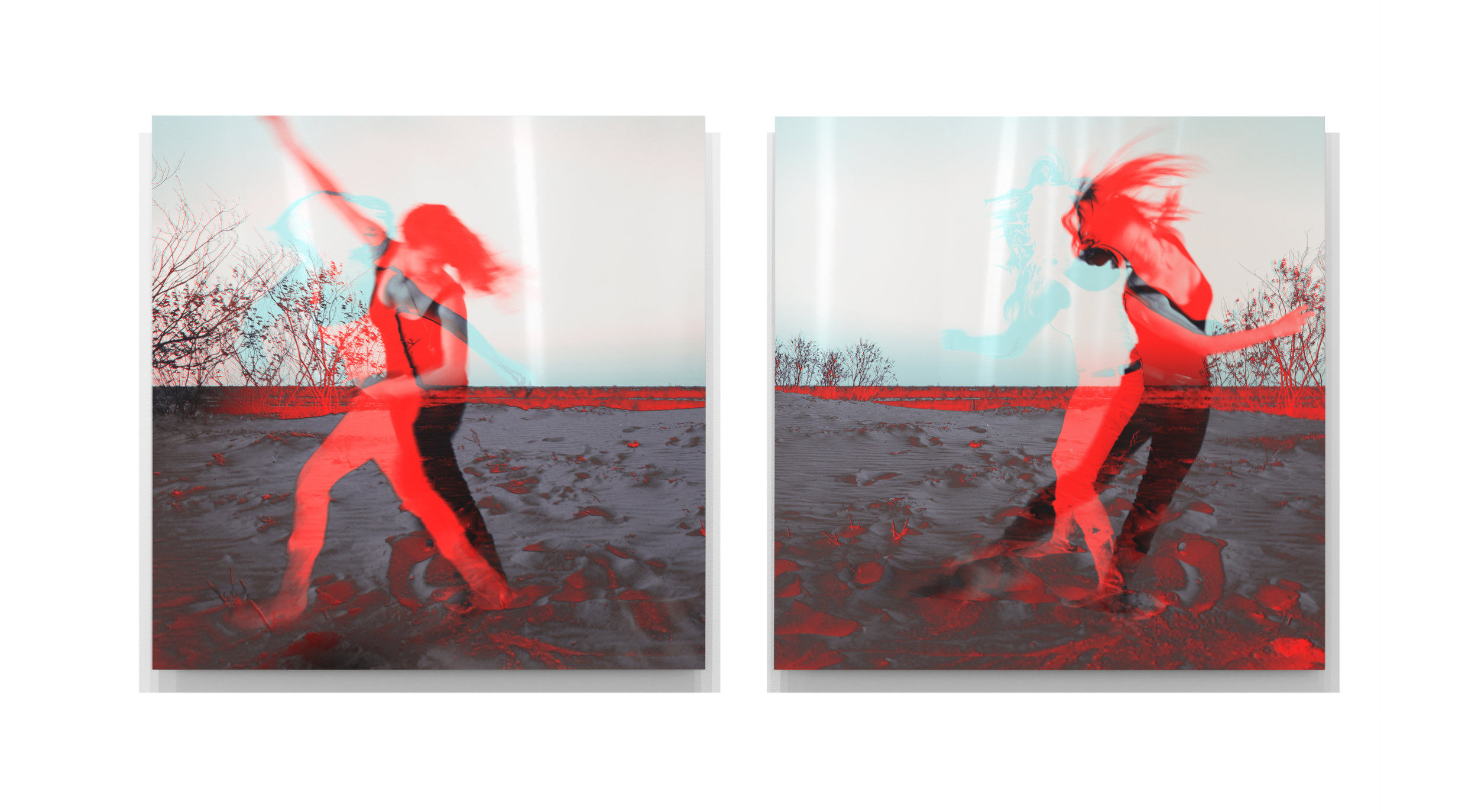Sough   2013, enamel and pigment on aluminium, 80cm x 160cm, private collection