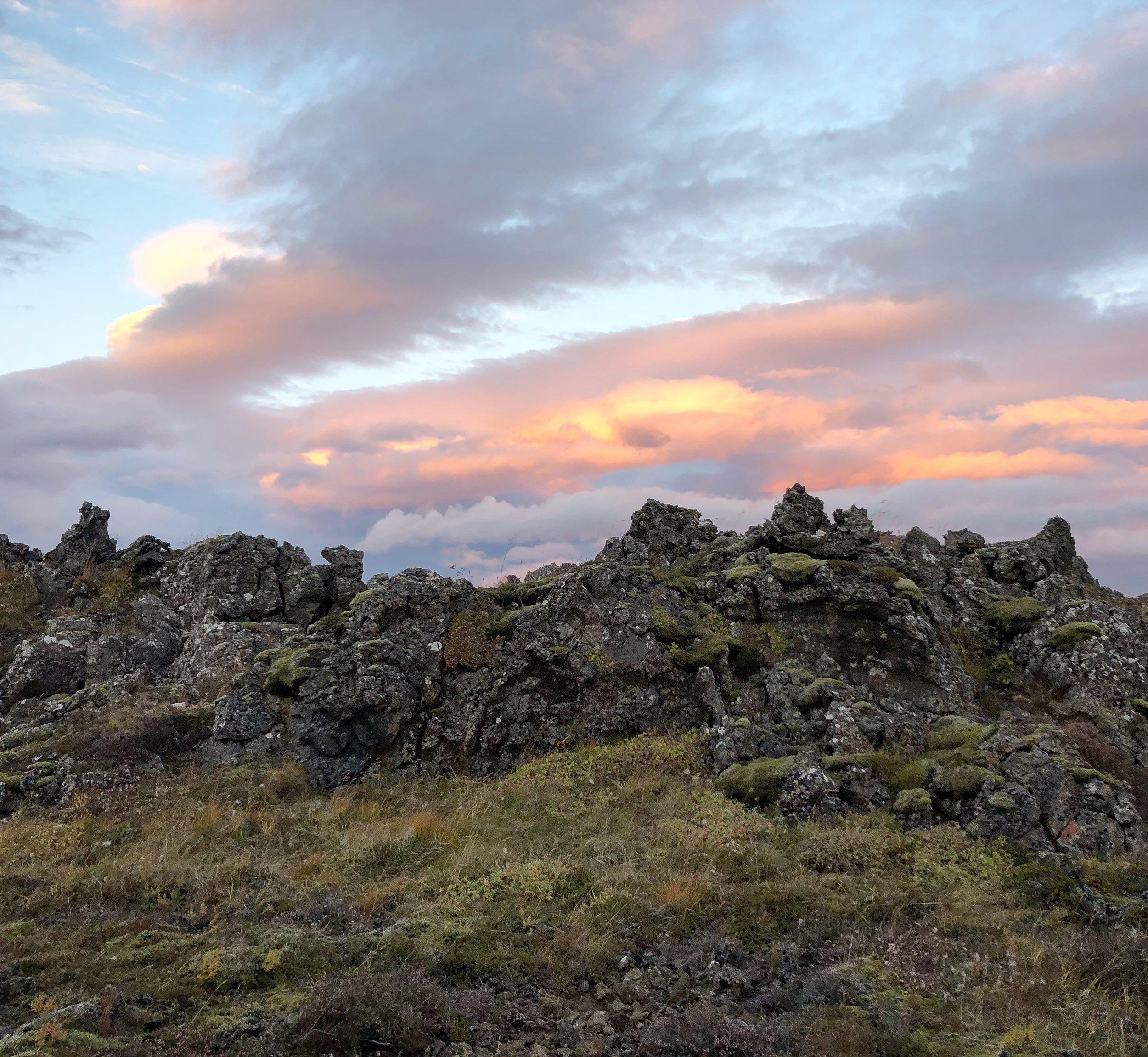 Gálgahraun lava field