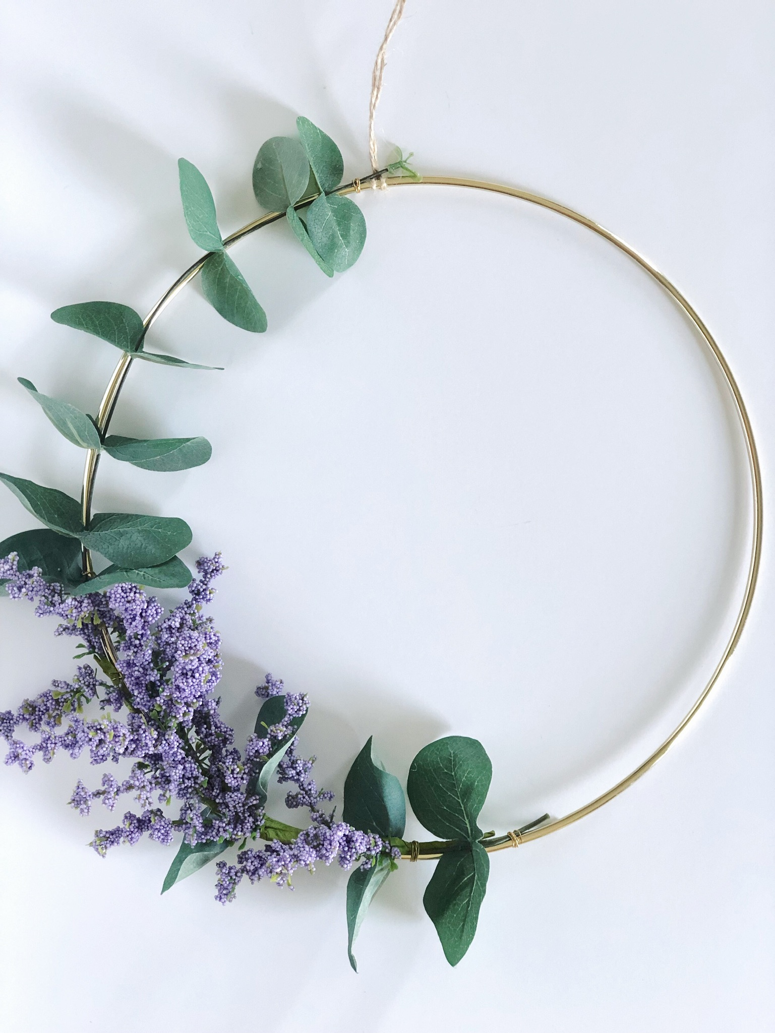 Designing a Modern Wreath fulfills a part of my why!