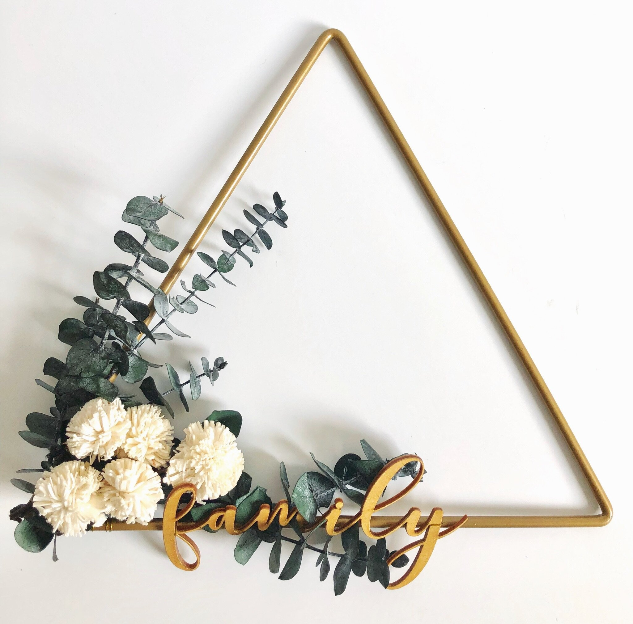 Family Modern Wreath