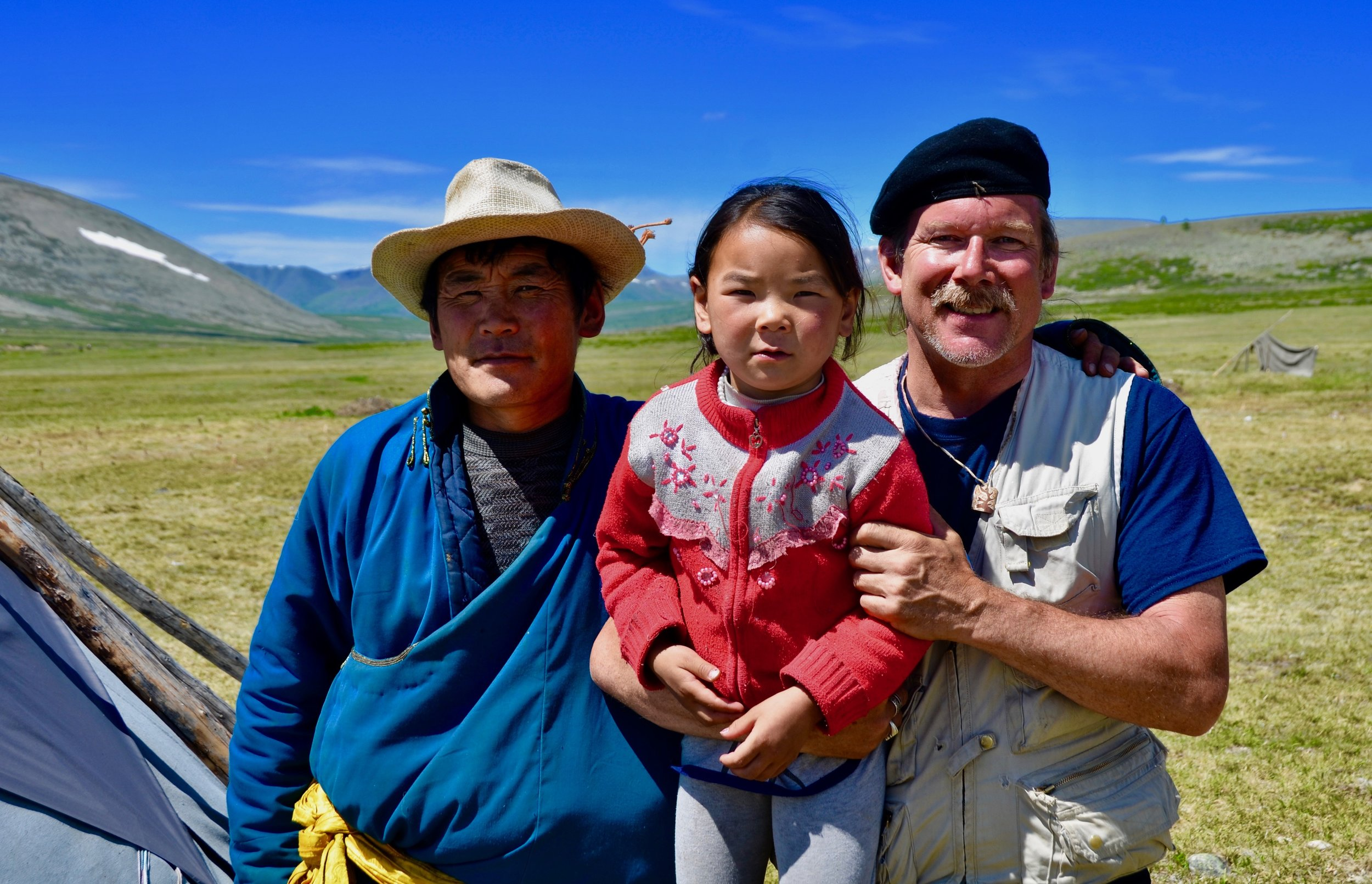 Virtual Partners - Collaborators  Dukha Reindeer Herding Familes - MONGOLIA
