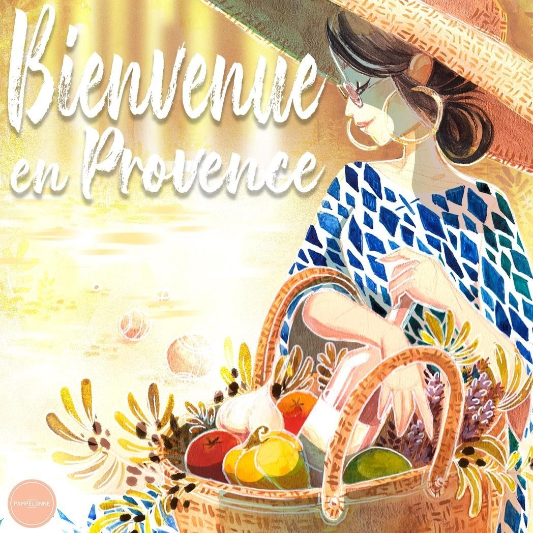 Enjoy a day in Provence!!! This illustration has been made by the artist  Foyaland  and will be available for purchase soon online and on-site.
