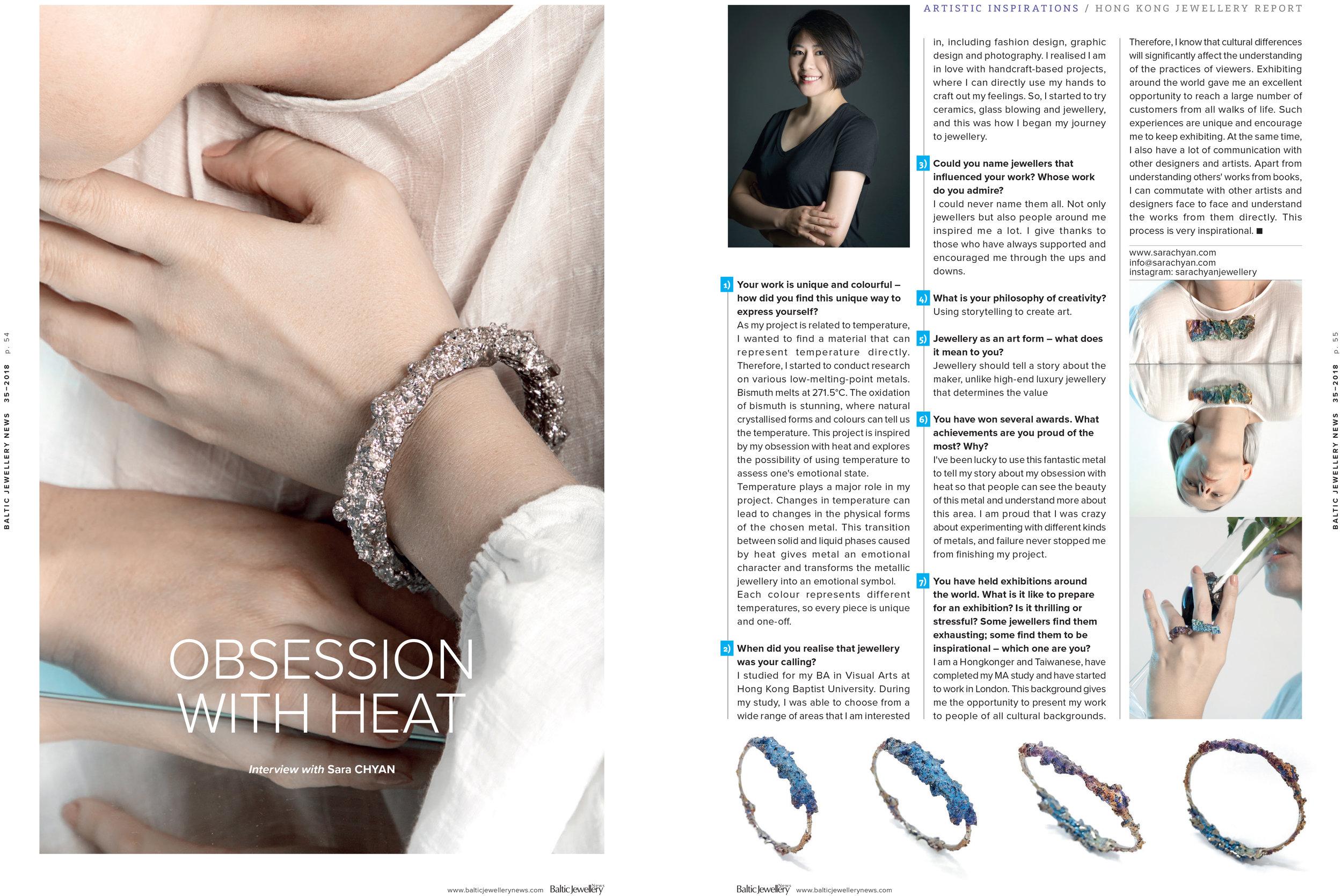 Baltic Jewellery News - September 2018